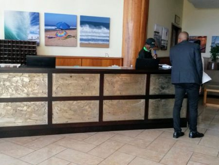 Office Reception Desk